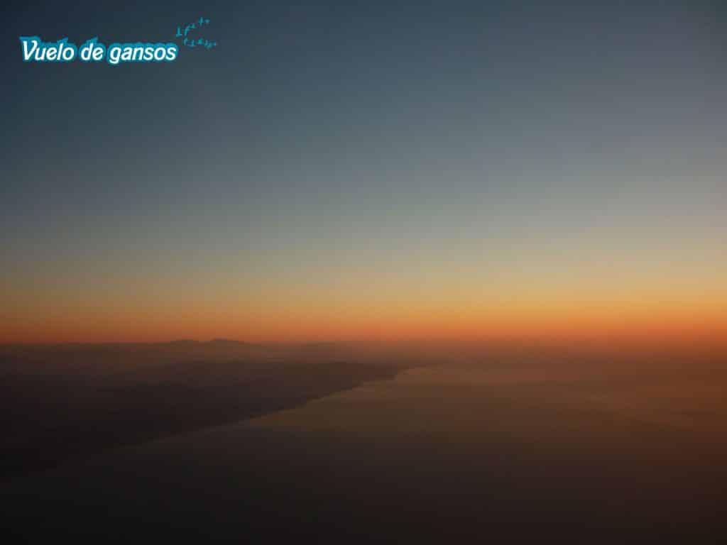 Perspectiva desde un avión
