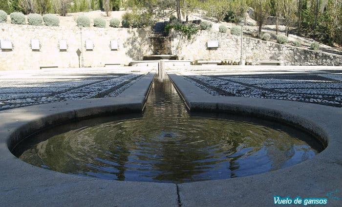 Parque en memoria de Federico García Lorca