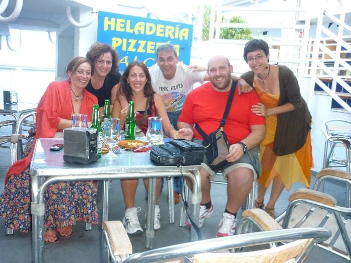 Reencuentro de peregrinos en Valencia