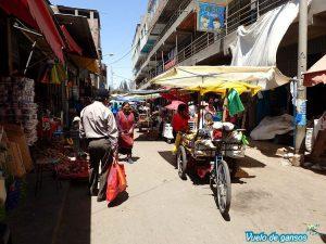 Calle del mercado Abelino